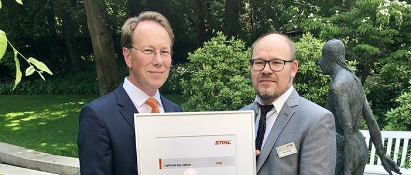 "World leading tool producer honors Lesjöfors company as ""Supplier of the Year 2018"""
