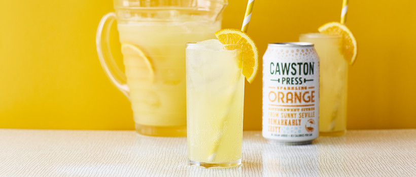 CAWSTON PRESS BRANCH OUT INTO SPARKLING ORANGE