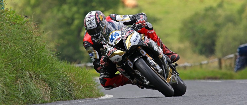 PETER HICKMAN CONTINUES VICTORIOUS 2019 ROAD RACE CAMPAIGN ON BOARD THE TRIUMPH DAYTONA 675  AT THE ULSTER GP