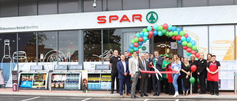 A.F. Blakemore Relaunches First Company-owned SPAR as New Flagship Store