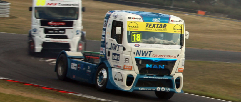Two podiums for Textar sponsored John Newell at Snetterton