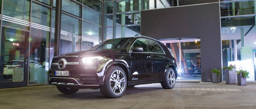 Complex technical development, Lorinser shows pioneering spirit with the attractive RS10 for the Mercedes GLE