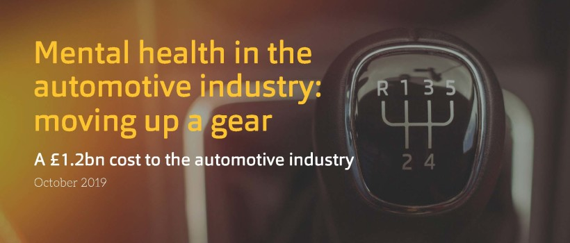 Ben's new whitepaper reveals that mental health could cost automotive industry employers up to £1.2bn a year
