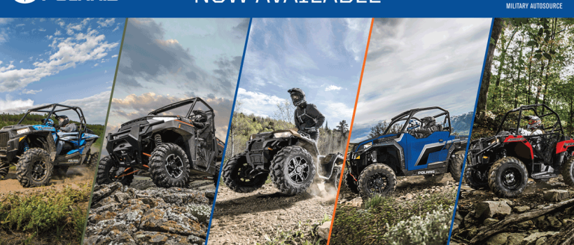 Polaris Teams Up With Military AutoSource and the Army & Air Force Exchange Service to Offer Off-Road Vehicle to Overseas U.S. Troops