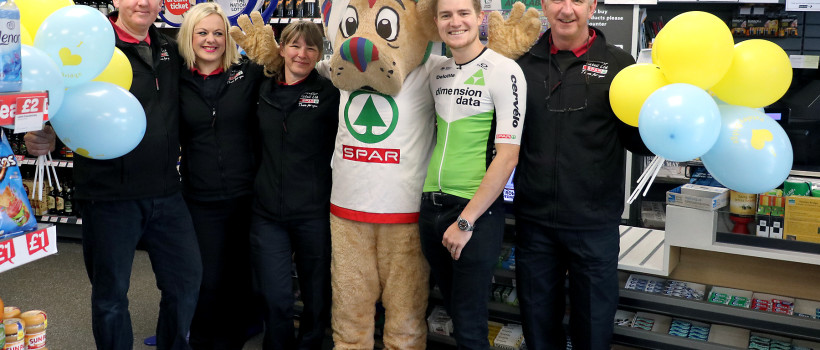 SPAR-sponsored road cyclists join Tour de Yorkshire race!