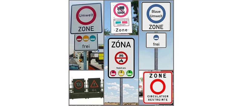 Where are the new environmental zones?