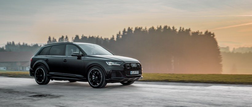 Giant in Seven-League Boots   ABT coaxes a confident 510 hp from the SQ7 – widebody kit planned
