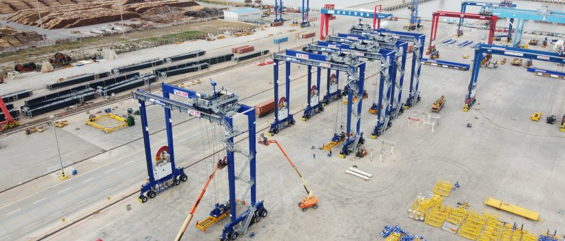 Project Pilgrim - £33 Million Investment to Immingham Container Terminal
