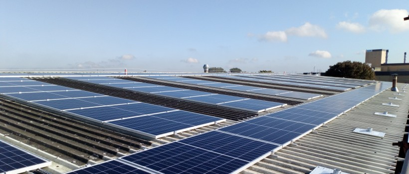 ABP Commences Work on the Humber's Largest Roof Mounted Solar Scheme