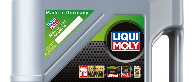 LIQUI MOLY launches its new Special Tec AA 0W-16 on the market