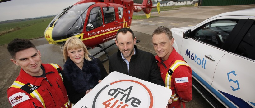 Midlands Air Ambulance Charity Calls On Support Of HGV Drivers