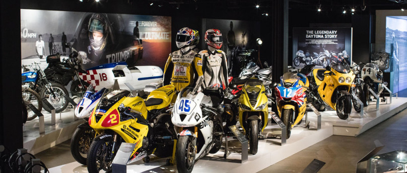 New TRIUMPH DAYTONA Exhibition  Launches at the  Triumph Factory Visitor Eexperience