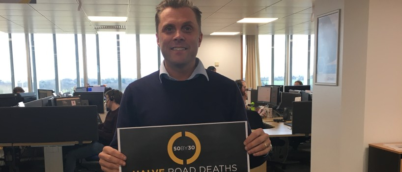 DriveTech supports new 50 by 30 global road death reduction declaration