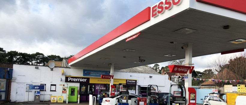 Christie &  Co sell well-appointed Broxbourne Forecourt and Convenience Store