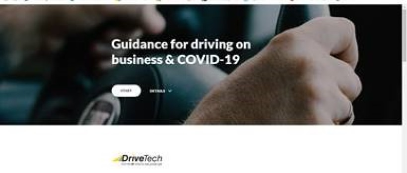 DriveTech is offering online essential driver training guide free to help during the COVID-19 pandemic