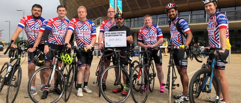 Real Ale supports local team for charity bike ride in aid of prostate cancer