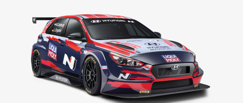 LIQUI MOLY enters the World Touring Car Cup WTCR alongside Hyundai