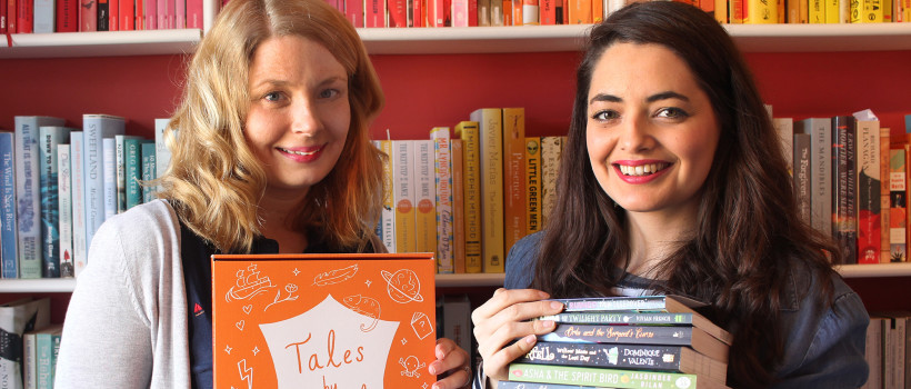 Book-lovers will send new subscription box and podcast to young readers around the world