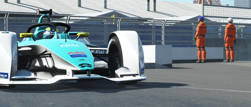 ABB Formula E Race At Home Challenge Round 6: Turvey back in top ten, Ma fought his way to the front