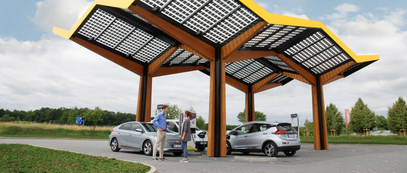 Fastned opens first fast charging station in Germany