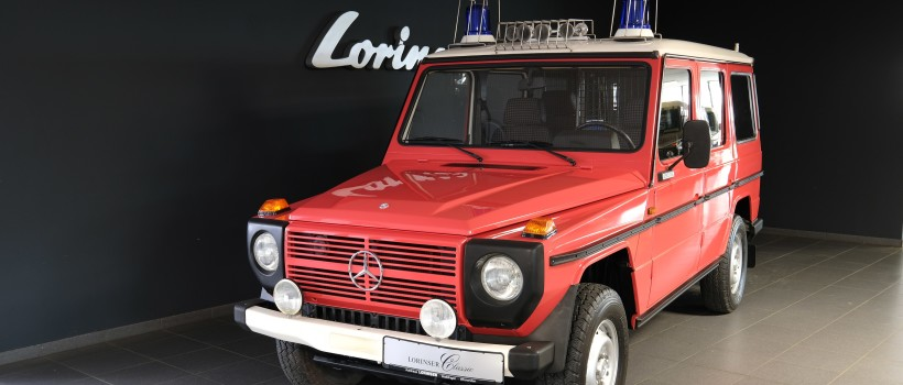 "Pulling its weight with ""G-force"" Rameder towbars for the classic Mercedes off-road vehicle"