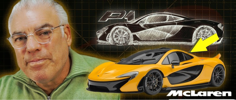 "Frank Stephenson ""How To Design The MCLAREN P1"" Premiere & Live Q&A"