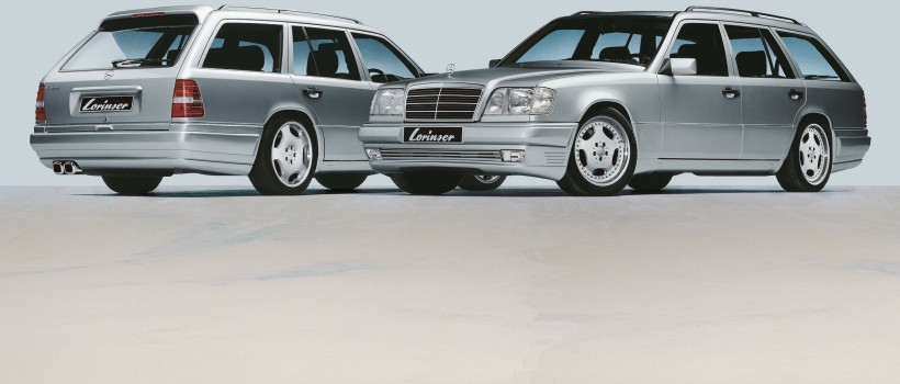 Lorinser wings a real classic Roof spoiler relaunch for S124 station wagon