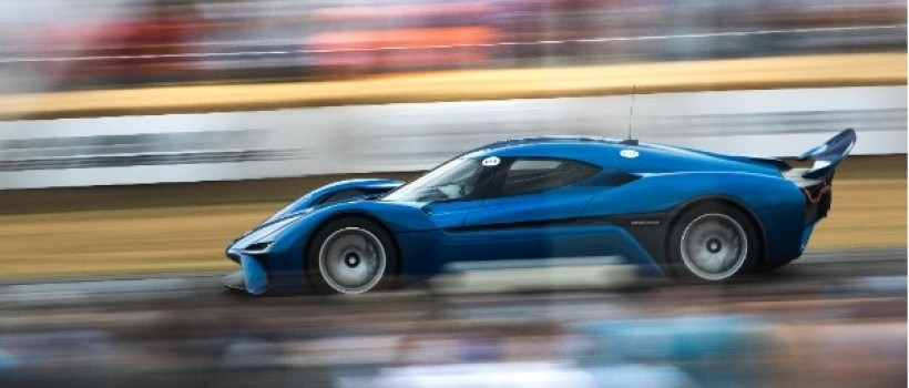 NIO EP9 Makes Impressive Debut at 2018 Festival of Speed