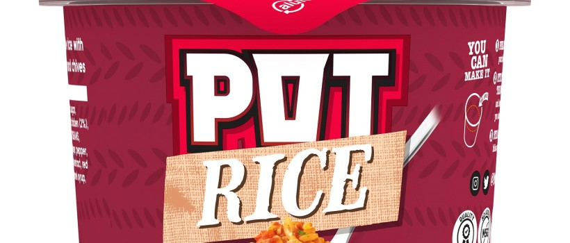 Back by popular demand, Pot Noodle relaunches its Pot Rice range