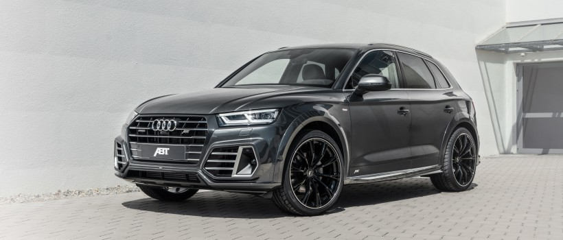 Hybrid power in perfect form   ABT gives Audi Q5 TFSI e an aero package and 425 hp