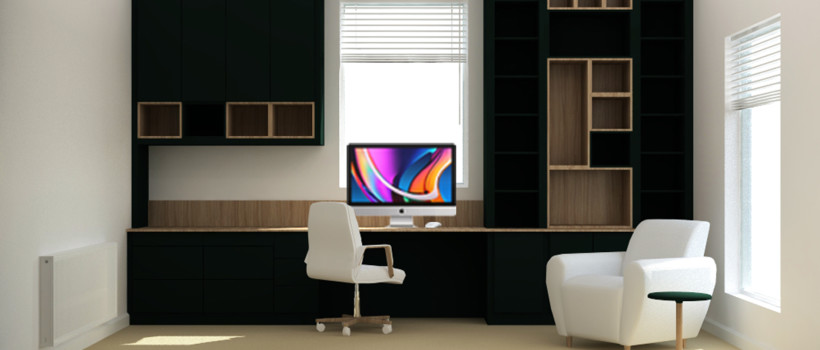 Sale-based Bluebell Fitted Furniture launch their new concept for home office furniture solutions