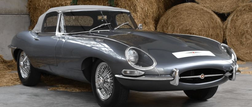 Pristine JAGUAR E-TYPE Series 1 Takes You Back  To The Factory Floor