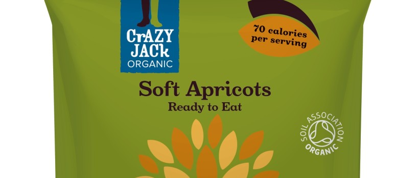 Crazy Jack Launches Ready to Eat Apricot Snack Packs