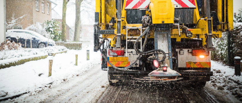 Snow and Ice? Five myths about road gritting, busted.