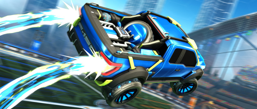 Exclusive F−150 Rocket League Edition Set for Launch as Ford Blasts Further into Gaming with Psyonix Collaboration
