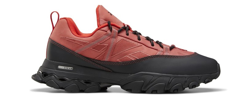 "Reebok's DMX Trail Shadow Approach ""Clay Red"" Nods Climbing Out West"