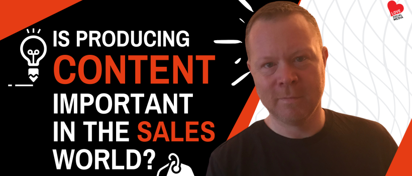 Sales Content: How Important Is It?