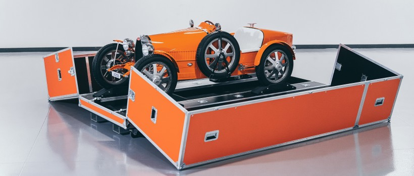 Bespoke Bugatti Baby II vehicles arrive with first customers across the globe