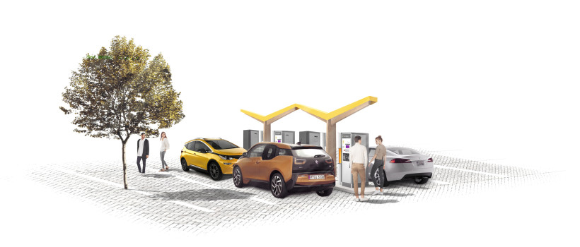 Fastned partners with REWE