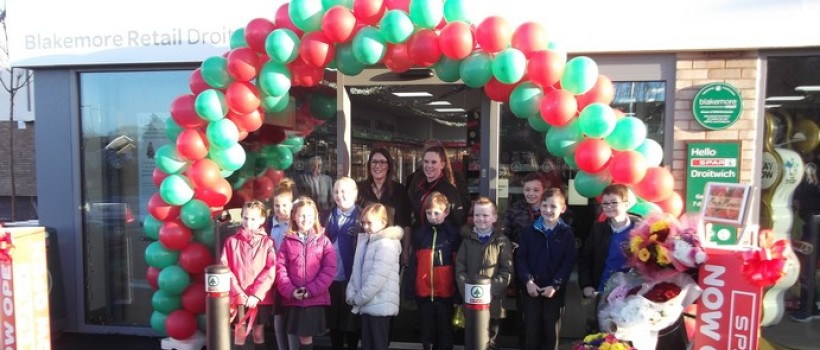 Droitwich Spar Relaunched at Brand New Site