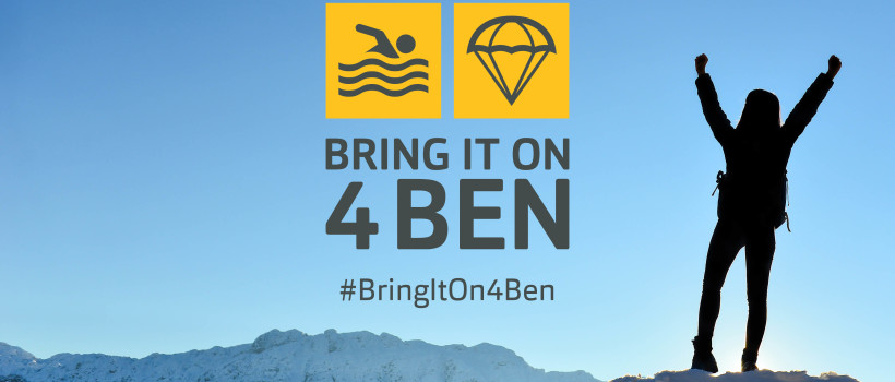 Ben invites the automotive community to 'Bring It On 4 Ben' with a series of exciting new fundraising challenges