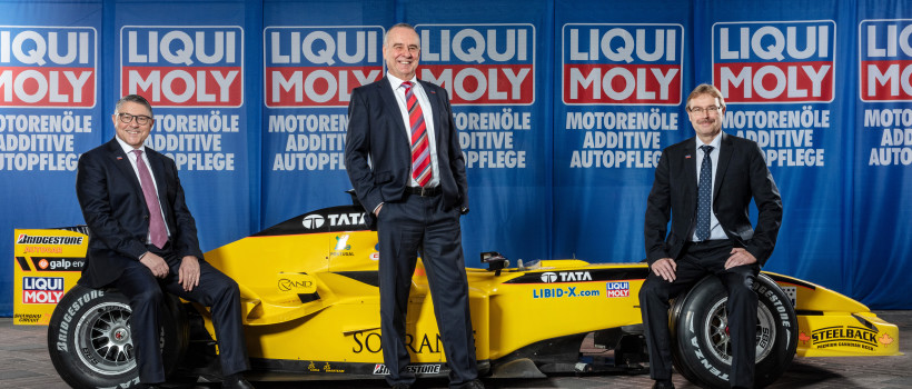 LIQUI MOLY enters Formula 1