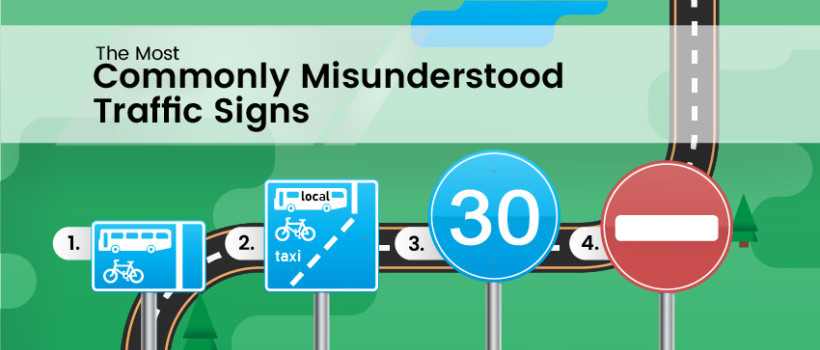 These are Some of the Most Commonly Misunderstood Road Signs – How Many can YOU Name?
