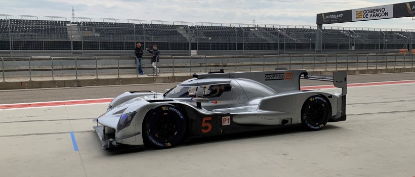 Ginetta LMP1 Proves Pace And Reliability At Major Test