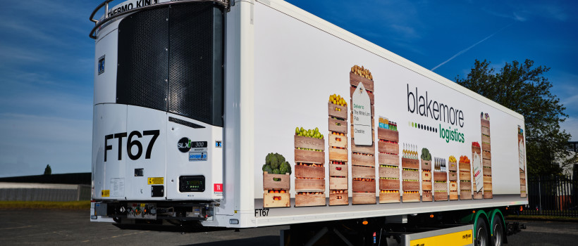 Blakemore Logistics Invests in Hybrid Refrigeration