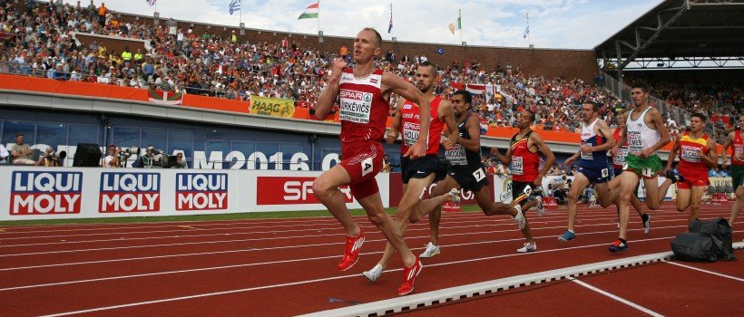 LIQUI MOLY at the European Athletics Championships 2020